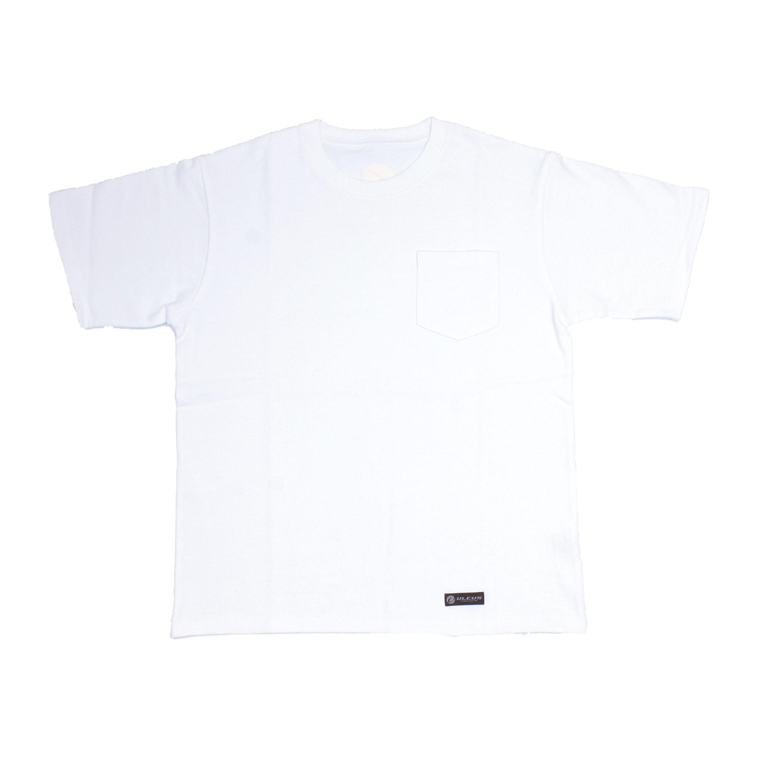 ULCUSポケット付きTシャツ ホワイト